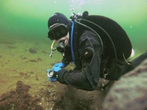 Navigering under dyk